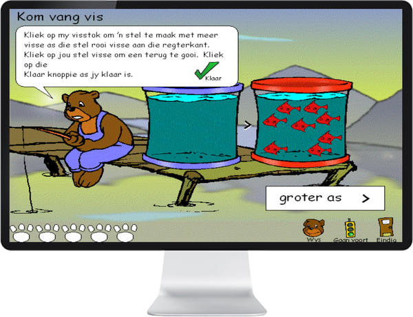 WISKUNDE GRAAD R, 1, 2, 3 (AFRIKAANS) - IQ SMART LEARNING SOFTWARE  - 1