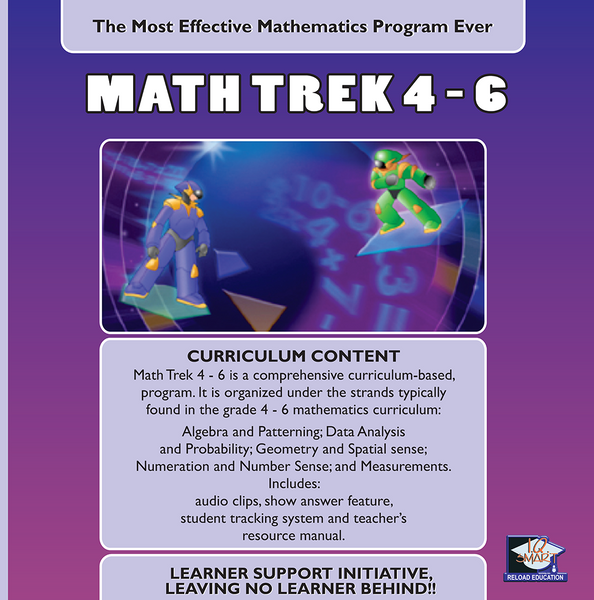 MATHEMATICS GRADE 4, 5, 6 - IQ SMART LEARNING SOFTWARE  - 9