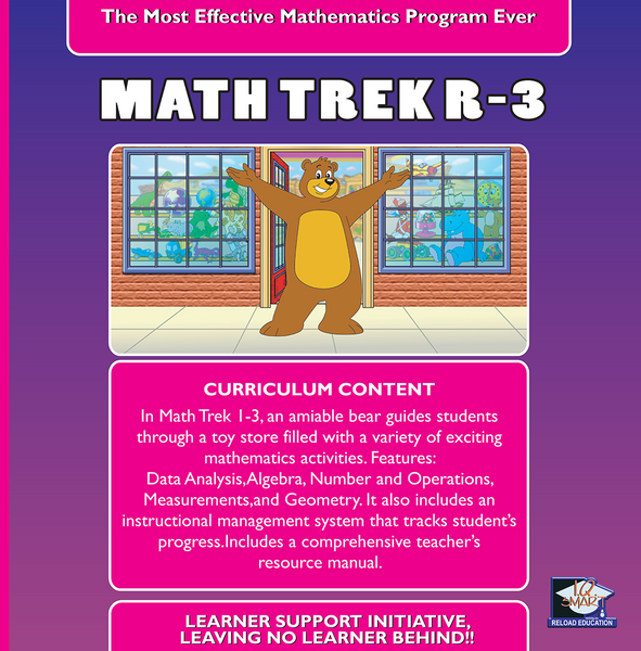 7 DAY FREE TRIAL -  MATHEMATICS GRADE  R, 1, 2, 3 - IQ SMART LEARNING SOFTWARE  - 9