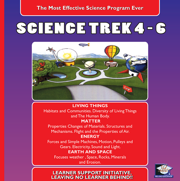 SCIENCE GRADE 4, 5, 6 - IQ SMART LEARNING SOFTWARE  - 9