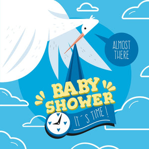 Baby Boy Arrival -  Baby Shower Ideas