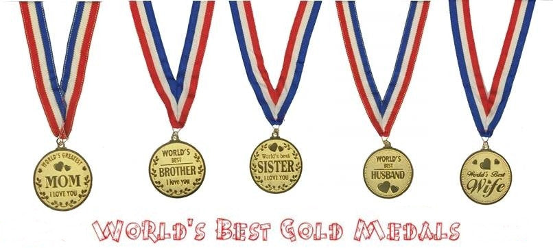 ~ The World's Best Gold Medals ~