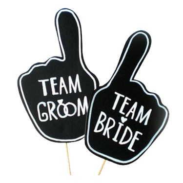 Team Bride & Team Groom