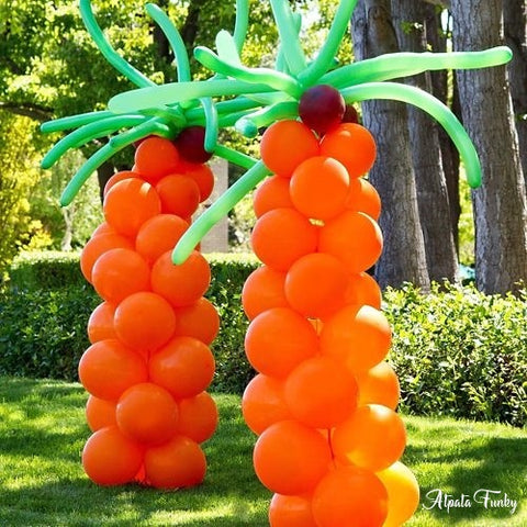 Atpata Funky DIY Balloon Palm Tree Decoration