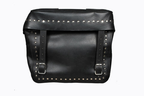 Black Studded Saddlebag Leather AFREZ-2419