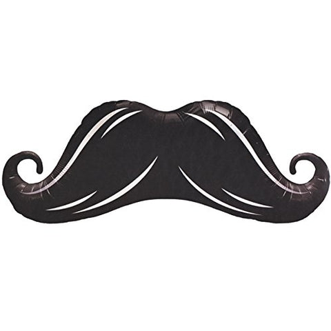 Mustache Shaped Foil Balloon