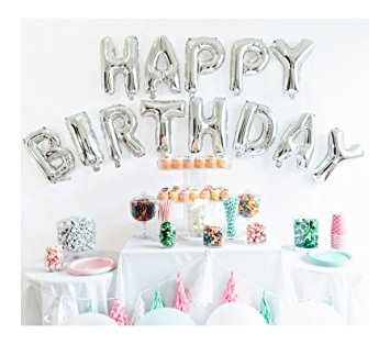Happy Birthday (Set of 13) Foil Balloons