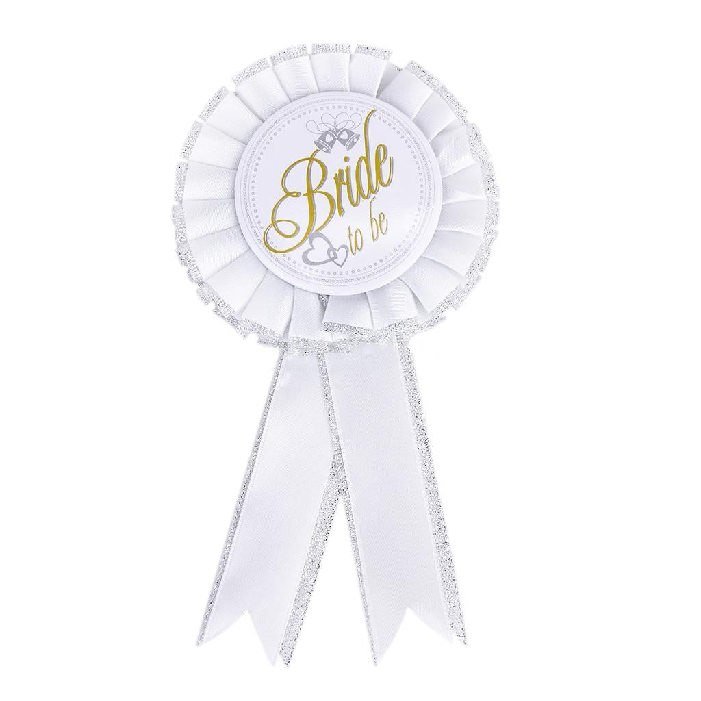 Bride To Be Badge / Brooch