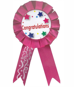 Congratulations Badge / Brooch