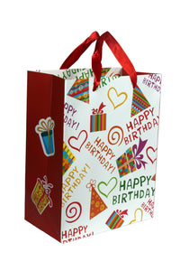 Birthday Paper Bag (Pack of 10 pcs.)