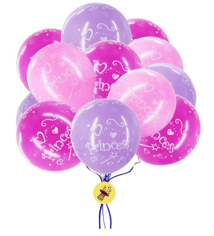 Princess Latex Balloons (Pack of 10 pcs.)