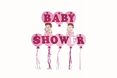 "Baby Shower (Pink) Foam 16"" Banner Baby Girl"