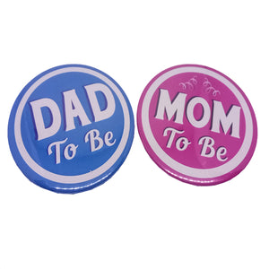 Soon To Be Dad Mom Brooches
