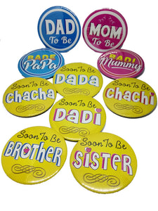 To Be: Dad's Side Full Brooches