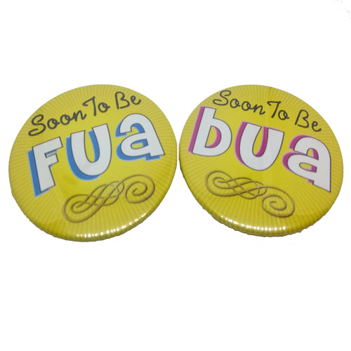 Soon To Be Bua Fua Brooches