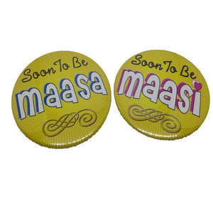 Soon To Be Maasa Maasi Brooches