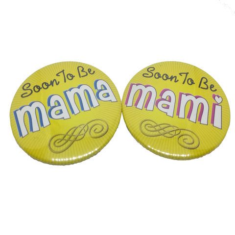 Soon To Be Mama Mami Brooches