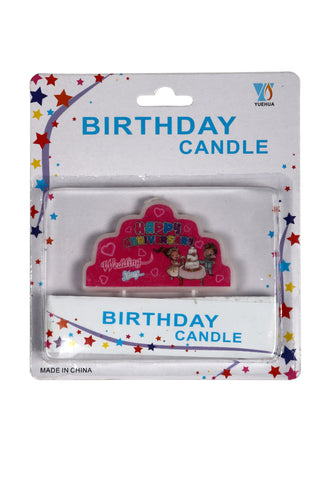 Happy Anniversary Wax Party Candle