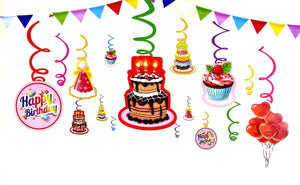 Birthday Cake Hanging Dangler for Party Decoration