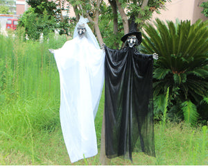 4.5Feet Bride & Groom Ghost Halloween Dolls (Set of 2)
