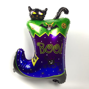 Magic Boots Cat 2 Feet Foil Balloon