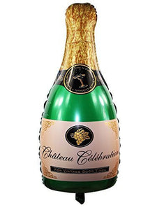 Champagne Bottle 3 Feet Foil Balloon
