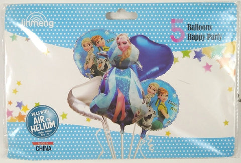 Frozen (Set of 5) Foil Balloons
