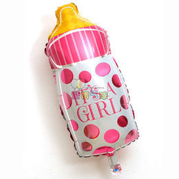 Its a Girl Bottle 2.5 Feet Foil Balloon
