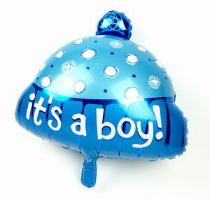 Its a Boy Cap 18 Inches Foil Balloon
