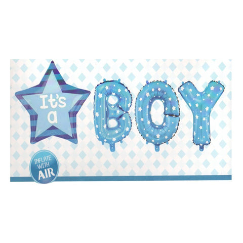 Its a Boy (Set) Foil Balloons