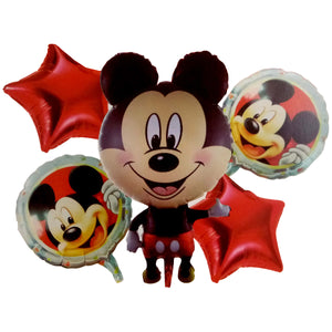 Mickey Mouse Jumbo Foil Balloons (Set of 5pcs.)