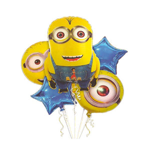 Minions (Set of 5) Foil Balloons