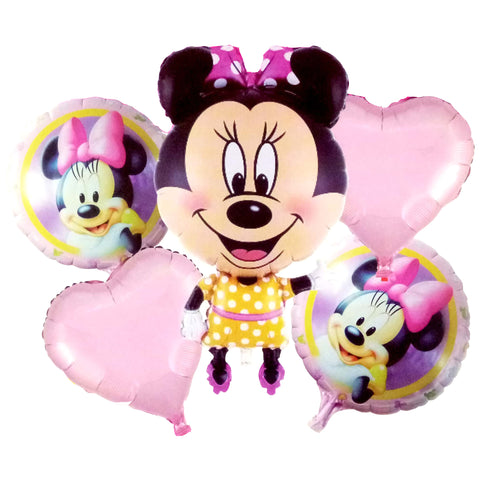 Minnie Mouse Jumbo Foil Balloons (Set of 5pcs.)