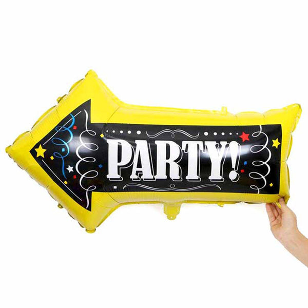 Party Arrow 32 inch Foil Balloon
