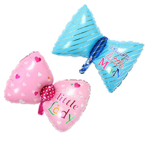 Little Man & Lady Baby Shower Foil Balloon