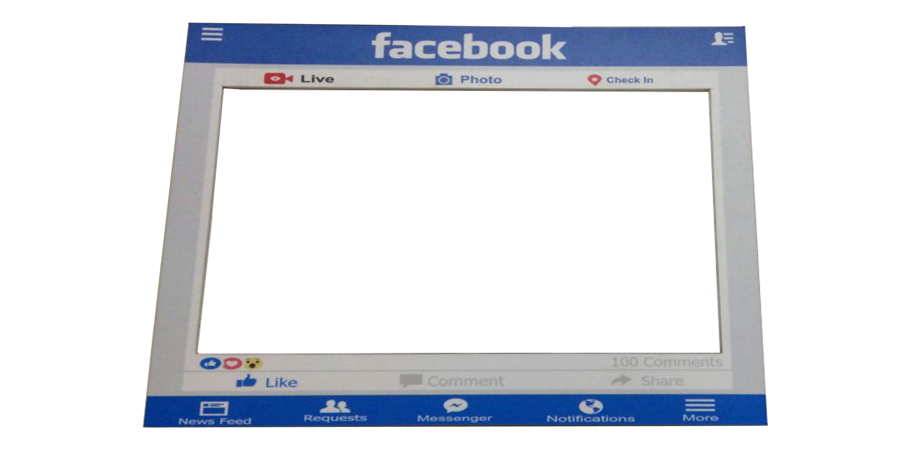 Facebook Photo Booth Board | Atpata Funky