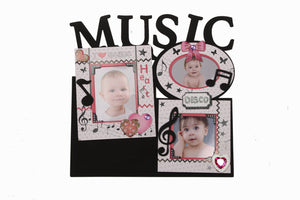 Music Theme Wall Photo Frame