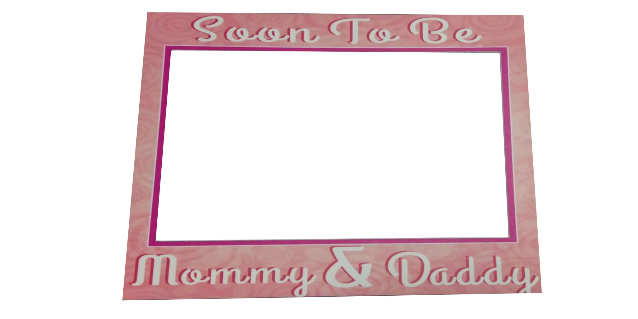 Soon To Be Mom Dad Baby Shower Photo Booth Board