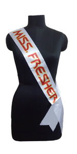 Miss Fresher Sash