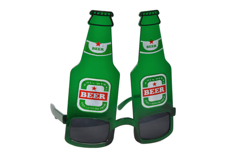 Beer Bottle Green Goggle