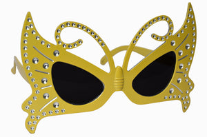 Butterfly Yellow Goggle