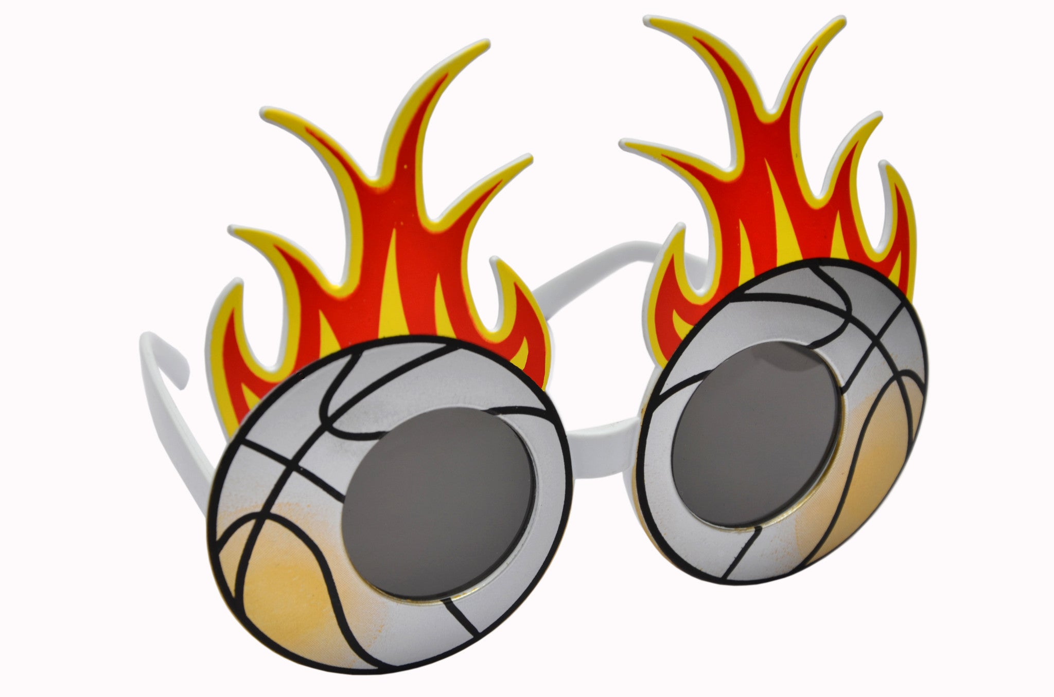 Fire Football Silver Goggle