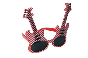 Guitar Red Checks Goggle