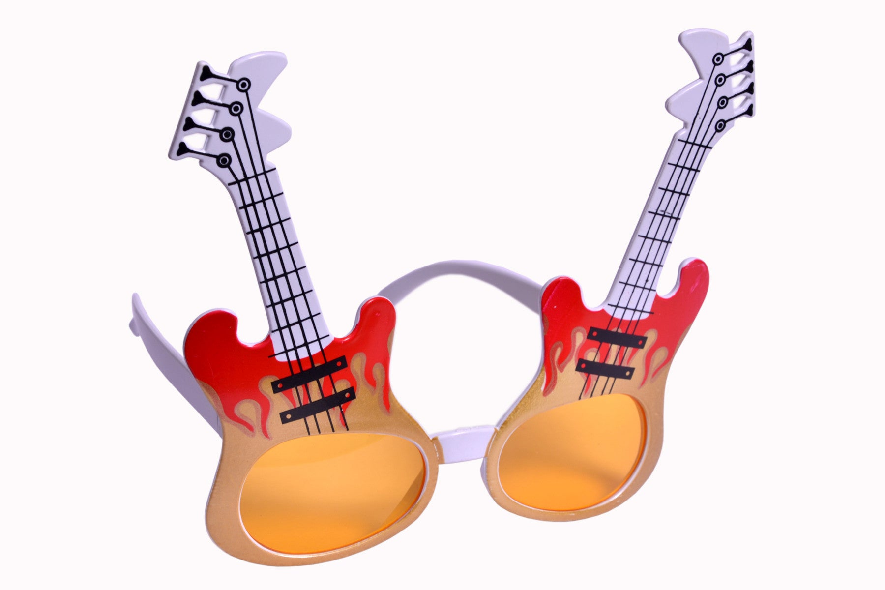 Guitar Yellow Goggle
