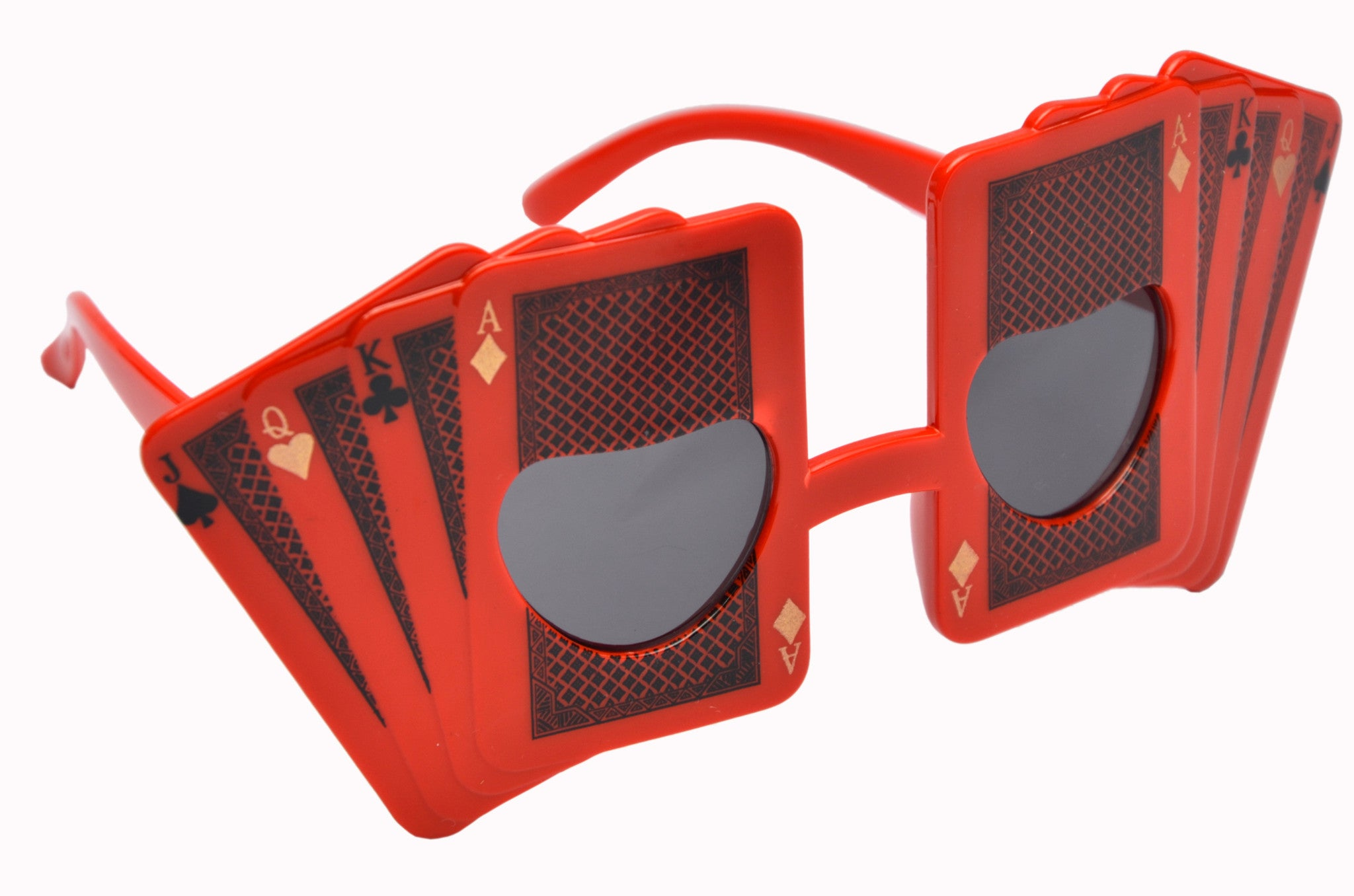 Playing Cards Red Goggle