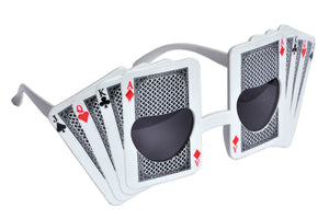 Playing Cards White Goggle