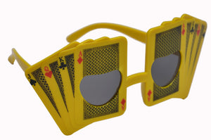 Playing Cards Yellow Goggle