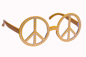 Peace Yellow Goggle