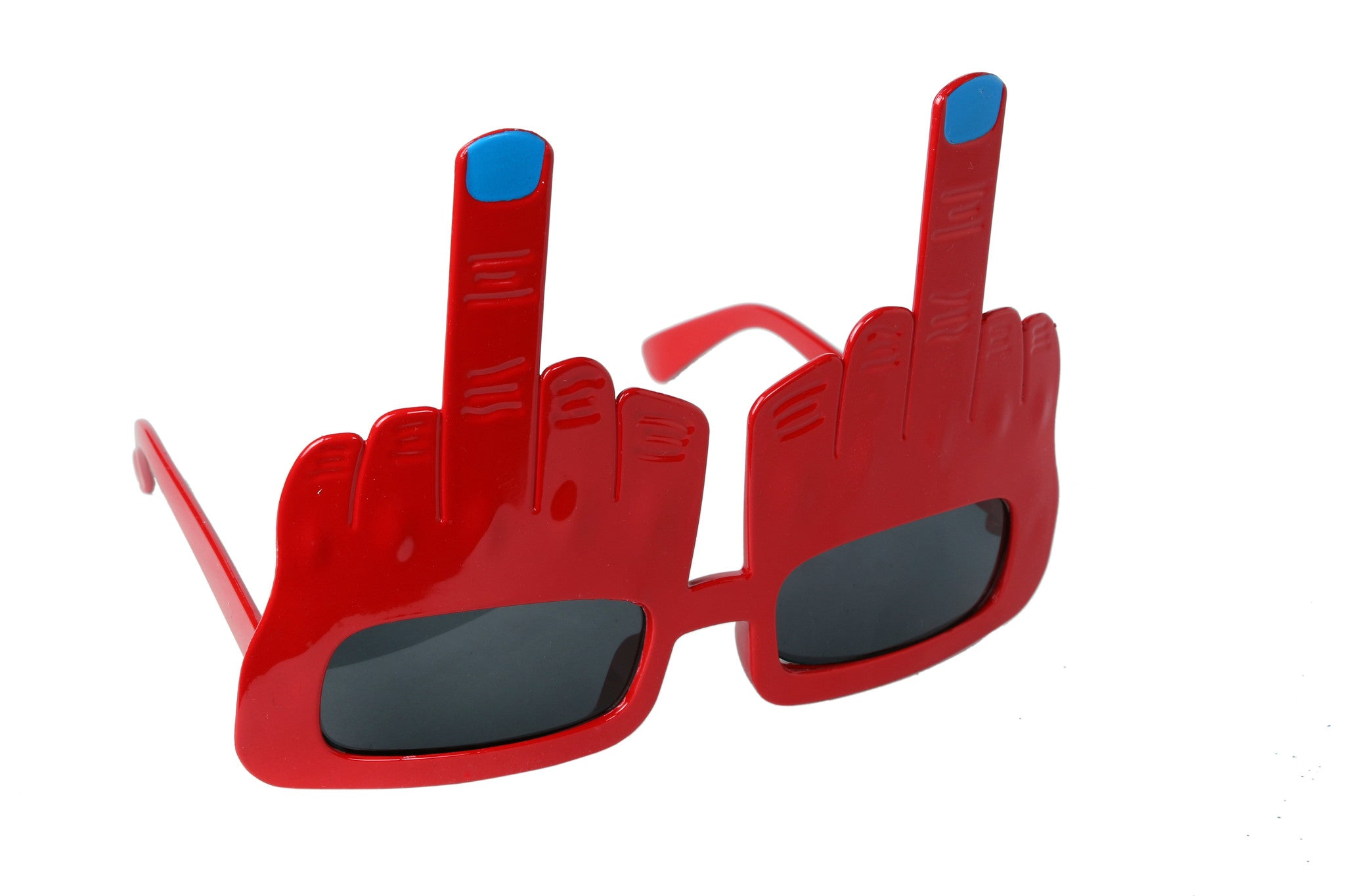 Middle Finger Red Goggle