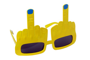 Middle Finger Yellow Goggle